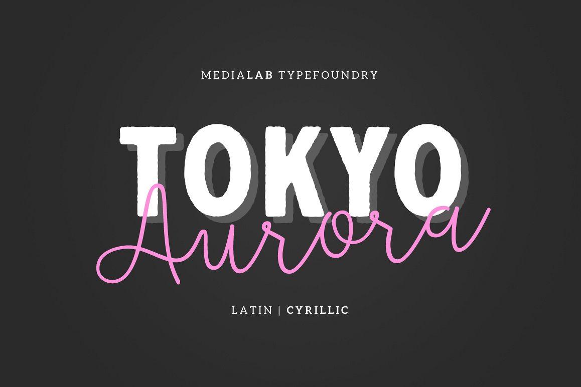 Tokyo AuroraScript Font