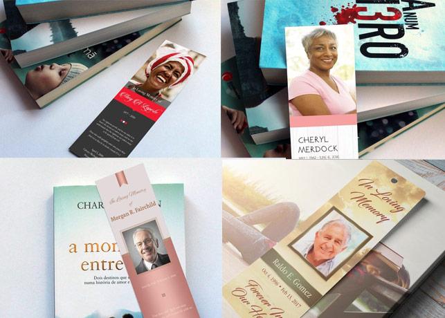 Funeral Bookmark Templates