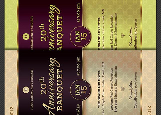 church anniversary banquet ticket godserv
