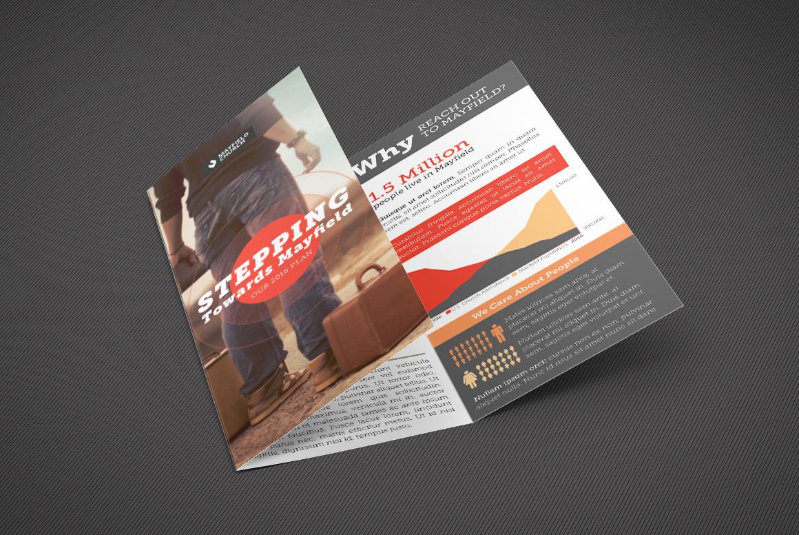 Missions Tri-Fold Brochure Template