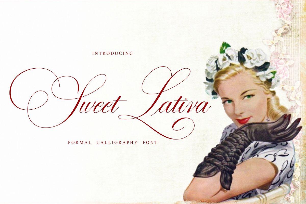 Sweet Lativa Script