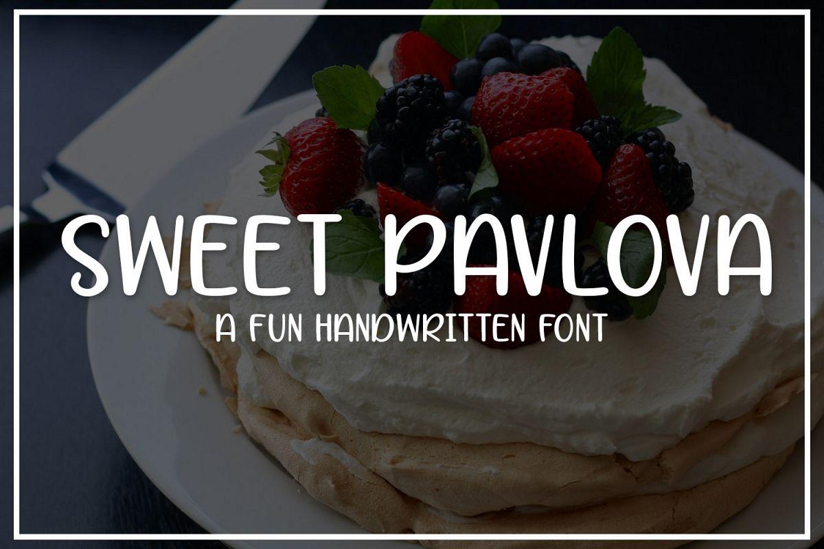 Sweet Pavlova