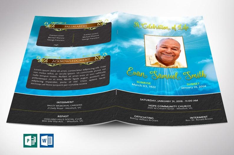 Obituary 59 Beautiful Templates Photoshop Word Publisher Inspiks
