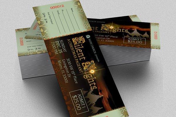 ticket Print Templates