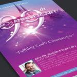 Church Celebration Program Photoshop Template