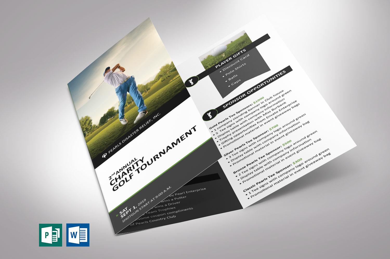 Golf Tournament Brochure