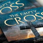 Empty Cross Easter Flyer Slide CD Template